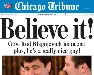 About Chicago Tribune Chicago is a happening place, and no publication documents the Windy City better than the Chicago Tribune. A Chicago Tribune subscription brings you daily breaking news, sports, business, entertainment, weather, and traffic from one of the most vital cities in the United States.
